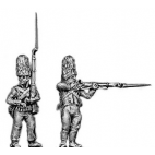 Grenadier, fur cap, firing and loading