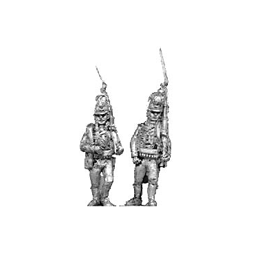 1802 Light infantry, marching