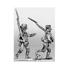Militiaman, round hat