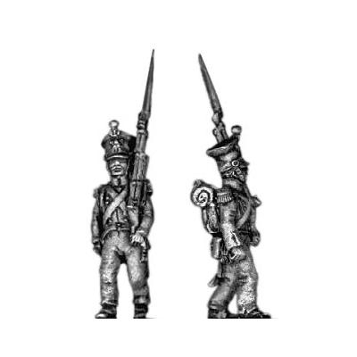 Grenadier, (czapka) march attack