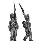 Light infantry fusilier, march attack