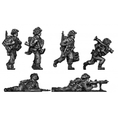 PIAT teams moving and firing