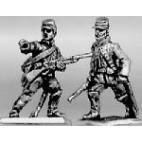 Trooper dismounted advancing