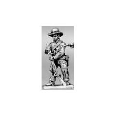 Trooper dismounted loading