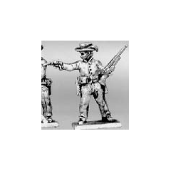 Trooper dismounted shotgun & pistol