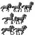 Light horse charging