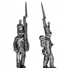 Fusilier, stovepipe, march attack