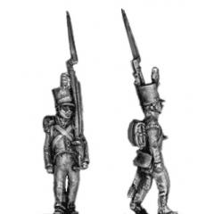 Grenadier, stovepipe, march attack