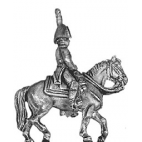 Mounted officer, bicorne
