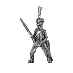 Line chasseur, habit-longue, carbine