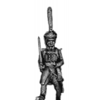 Guard infantry officer, shako