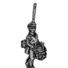 Guard infantry drummer, shako