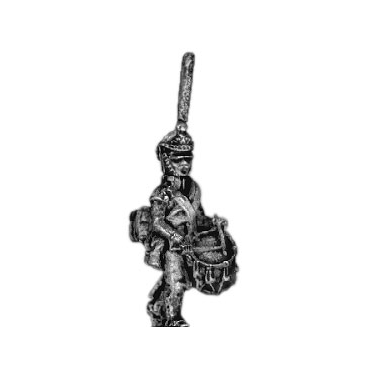 Guard infantry drummer, shako