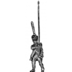Guard infantry standard bearer, shako