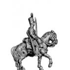 Dragoon, watering cap, overalls, sword sheathed