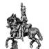 Dragoon officer, watering cap, overalls