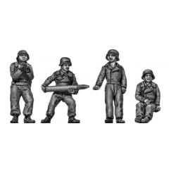 Panzer Jaeger crew, helmets