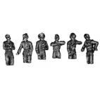 SS Panzer crew, hatch figures