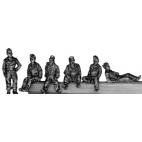 SS Panzer crew, relaxing
