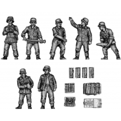 10.5cm Flak crew and accessories