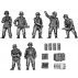 10.5cm Field artillery crew and accessories