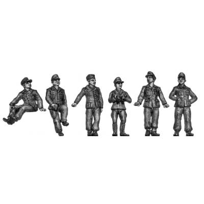 Afrika Korps crew set