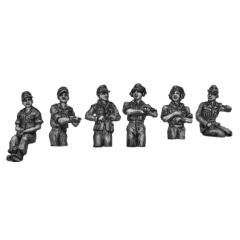 Afrika Korps crew set, hatch variants