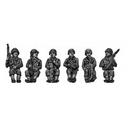 Armoured infantry seated set 2
