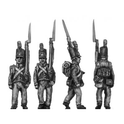 Dutch militia, marching