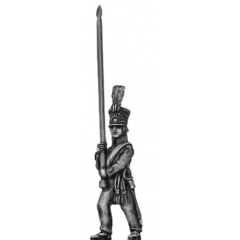 Dutch militia, standard bearer