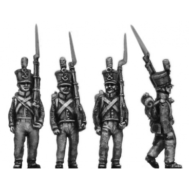 Chasseur / Jaeger, marching