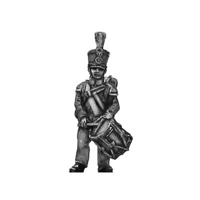 Orange Nassau 28th Regiment drummer