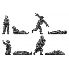 British medical orderlies and casualties
