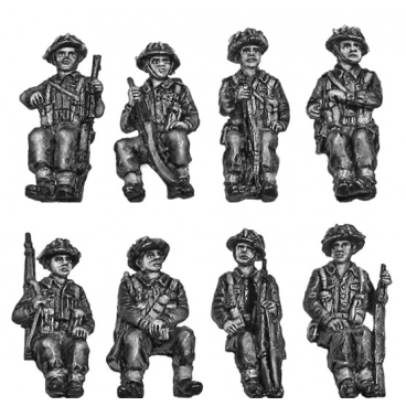 British Infantry truck riders – armed