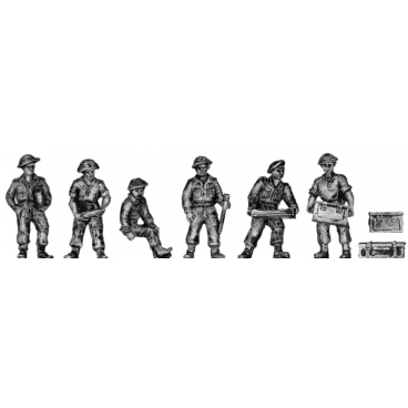 British 25pdr crew – Set 2