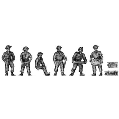 British 25pdr crew – Set 2