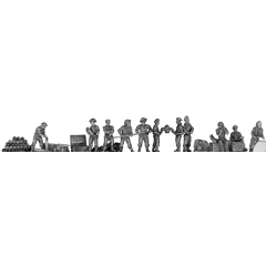 "British 5.5"" gun crew"