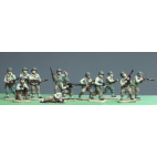 Infantry squad, in contact