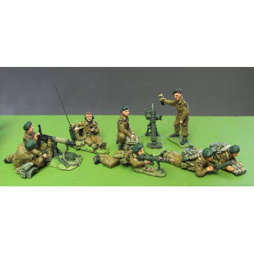 British Commando heavy weapons section