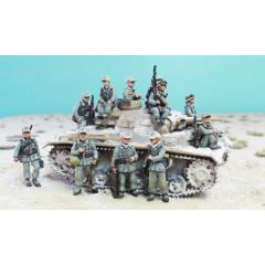 German DAK casual infantry