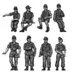 German DAK Panzertruppen - relaxing