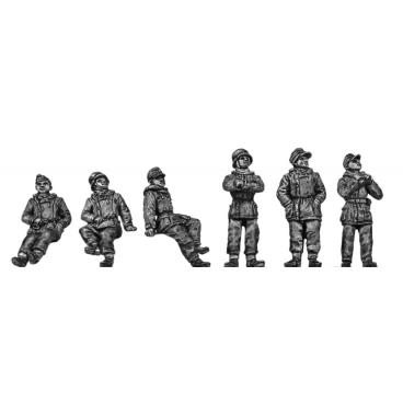 German Panzer crew - winter gear