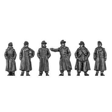 German Infantry - greatcoat