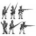 Fusiliers, firing line
