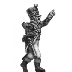 Voltigeur, Officer w carbine