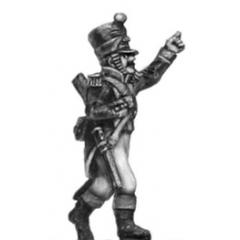 Voltigeur, Officer w carbine