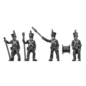 Foot Artillery, firing