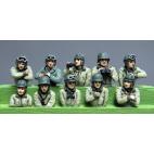 American Tank Crew Heads