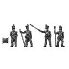Young Guard artillery, firing