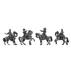 Officers, mounted